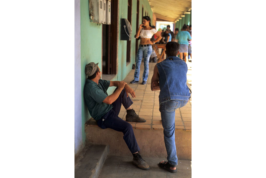 People Watching in Cuba