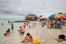 The beach of Mucura Colombia